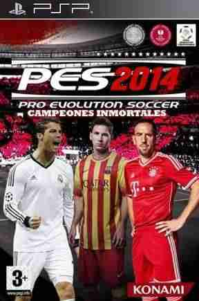 Descargar Pro Evolution Soccer 2014 Campeones Inmortales [Spanish][RIP][PATCH TODOS CFW][Bixu] por Torrent